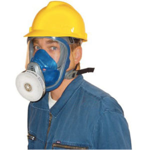 advantage 3100 full face piece respirator