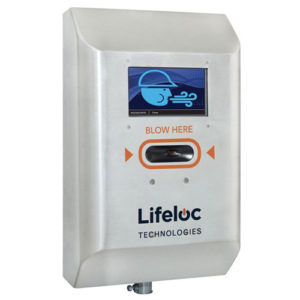 Lifeloc FC5 sentinel entry breathalyser