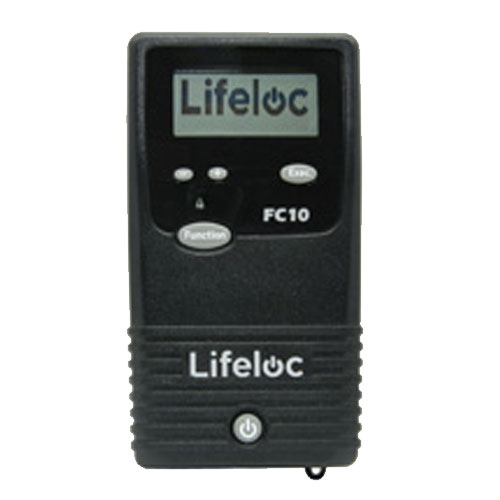 Lifeloc FC10 portable breathalysers